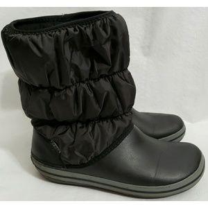 efbd830d0 Crocs 11 Puff Winter Snow Boots Water Resistant